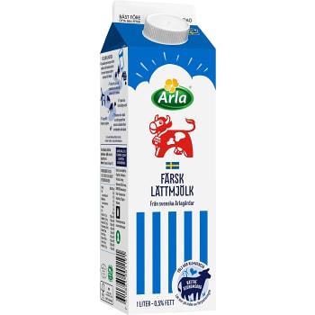 Lättmjölk 0,5% 1l Arla Ko