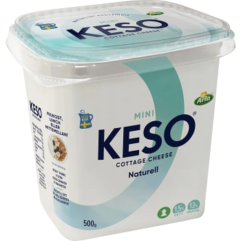 Cottage cheese Mini 1,5% 500g Keso