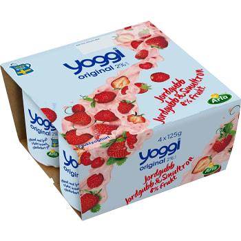 yoggi yoghurt kalorier