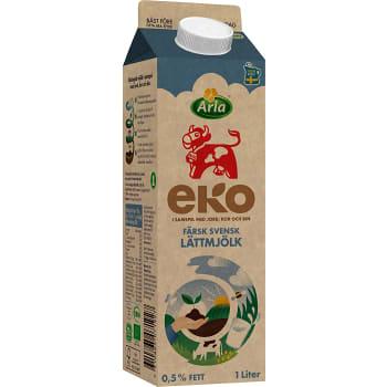 Lättmjölk 0,5% 1l KRAV Arla Ko