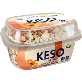 Mellanmål Cashewnötter ananas apelsin & papaya 150g Keso
