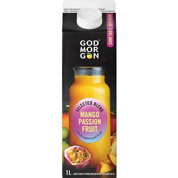 Juice Mango Passion Exotic Blend 1l God Morgon
