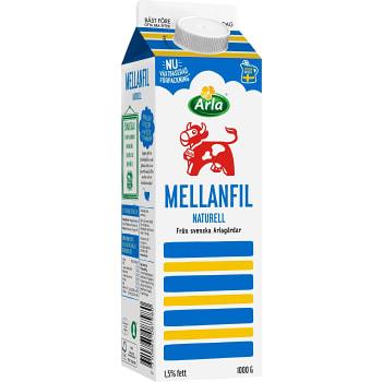 Mellanfil 1,5% 1000g Arla Ko