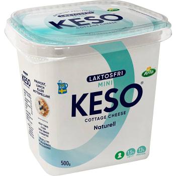 Cottage Cheese Mini Naturell Laktosfri 1.5% 500g Keso