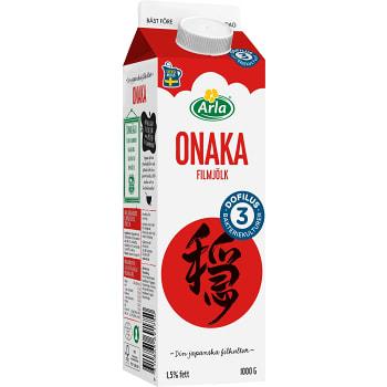 Filmjölk Onaka Plus Dofilus 1,5% 1000g Arla