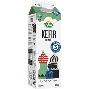 Filmjölk Kefir Plus Dofilus 3% 1000g Arla