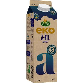 Filmjölk A-fil Plus Dofilus 3% Ekologisk 1000g Arla