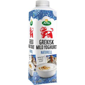 Grekiskyoghurt Mild Naturell 6% 1000g Arla