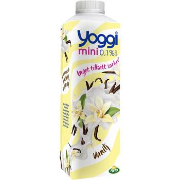 Yoghurt Mini Vanilj 0,1% 1kg Yoggi
