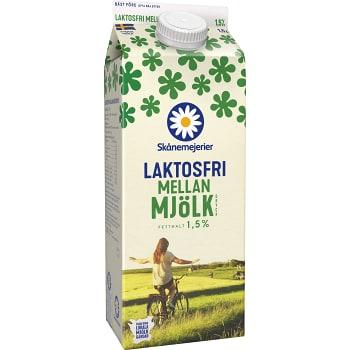 Mellanmjölkdryck Laktosfri 1,5% 1,5l Skånemejerier
