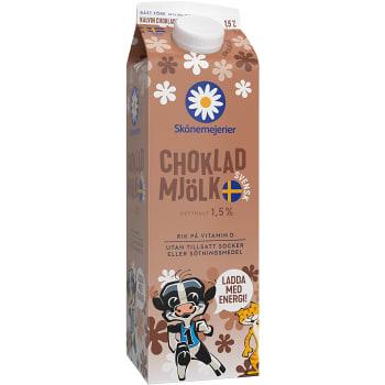 Chokladmjölk Laktosfri 1l Skånemejerier