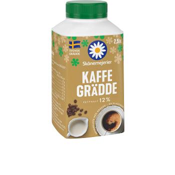 Kaffegrädde 12% 2,5dl Skånemejeri