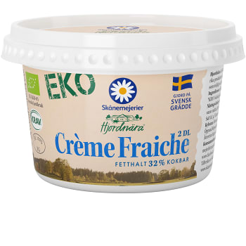 Crème fraiche 34% 2dl KRAV Skåne Hjordnära