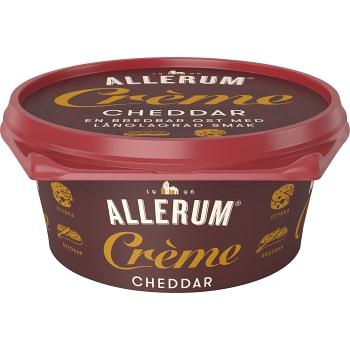 Cheddar Crème Bredbar 125g Allerum