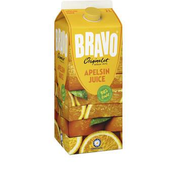 Apelsinjuice 2l Bravo