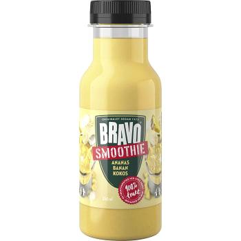 Smoothie Ananas banan kokos 250ml Bravo