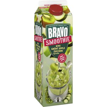 Smoothie Kiwi grönt äpple & zucchini 1l Bravo