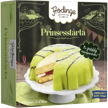 Prinsesstårta Fryst 480g Frödinge