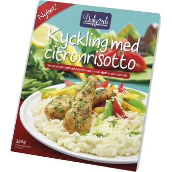 Färdigmat Kyckling med citron Fryst 350g Dafgård