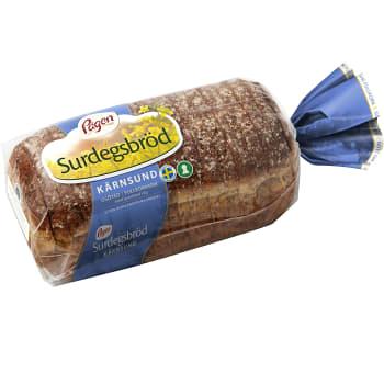 Bröd KärnSund Surdegsbröd 700g Pågen