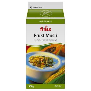Fruktmüsli Glutenfri 550g Finax