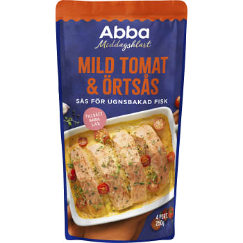 Mild tomat & örtsås för lax 250g Abba