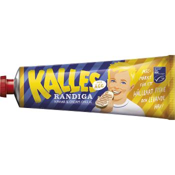 Kaviar Randiga med ägg 285g Kalles