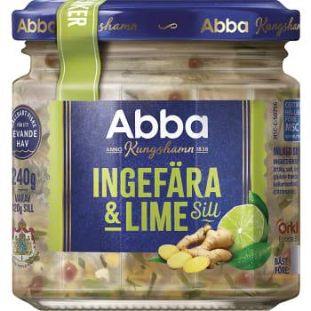 Ingefära & lime 240g Abba