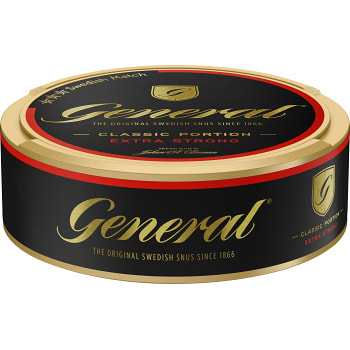 Classic Extra Strong Portionssnus 22g General