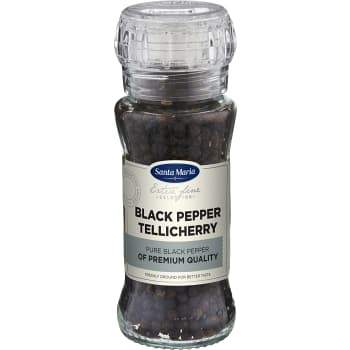 Tellicherry pepper Kvarn 70g Santa Maria