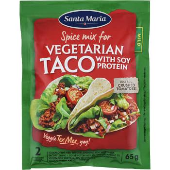 Taco Kryddmix Vegetarian 65g Santa maria