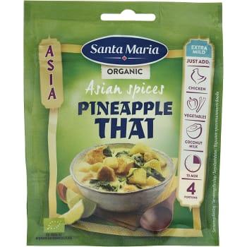 Asian spices Pineapple thai Ekologisk 30g Santa Maria