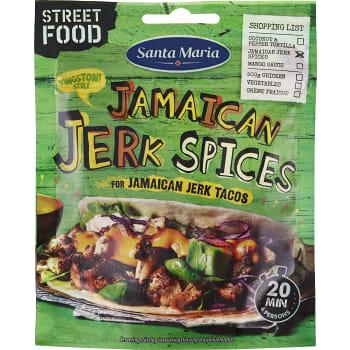 Tacokrydda Jamaican Jerk Spices 25g Santa Maria