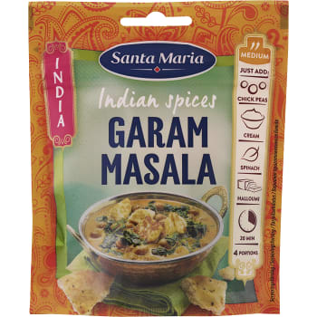 Indian spices Garam masala 33g Santa Maria