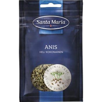 Kryddor Anis hel påse 17g Santa Maria