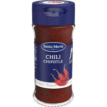 Chilipeppar Chipotle 33g Santa Maria