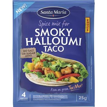 Kryddmix Smoky Halloumi 25g Santa Maria