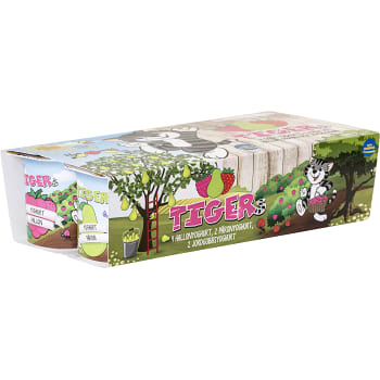 Fruktyoghurt Multi 2,6% 8-p 1000g Tiger