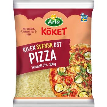 Riven ost Pizza 32% 300g Arla