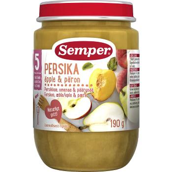 Persika med päron Från 5-6m 190g Semper