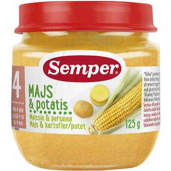 Majs & potatis Från 4m 125g Semper