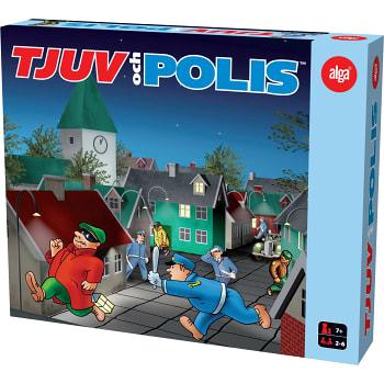 Spel Tjuv och Polis Alga