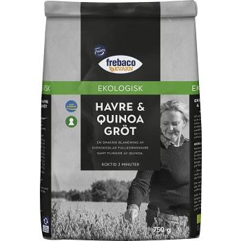 Havregryn & quinoa Gröt 750g KRAV Frebaco