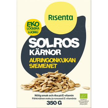 Solroskärnor Ekologisk 350g Risenta