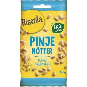 Pinjenötter Ekologisk 60g Risenta