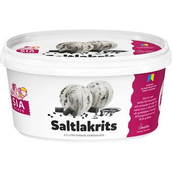 Gräddglass Saltlakrits 0,5l SIA Glass
