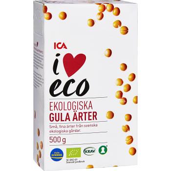 Gula ärter 500g KRAV ICA I love eco