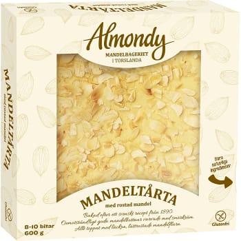 Mandeltårta Glutenfri Fryst 600g Almondy