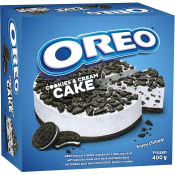 Kaka Cookies Cream Fryst 400g Oreo