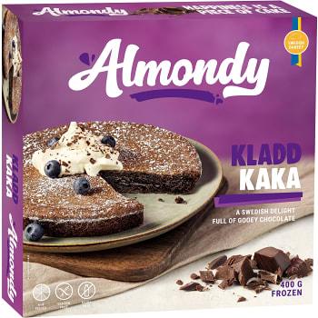 Kladdkaka Fryst Glutenfri 400g Almondy
